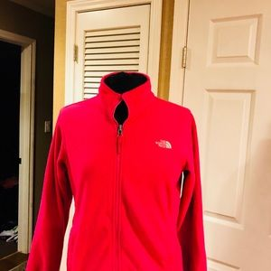 Pink North face size 14/16